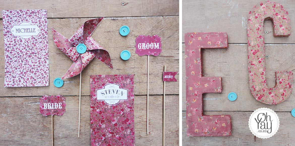 Country Chic stationery
