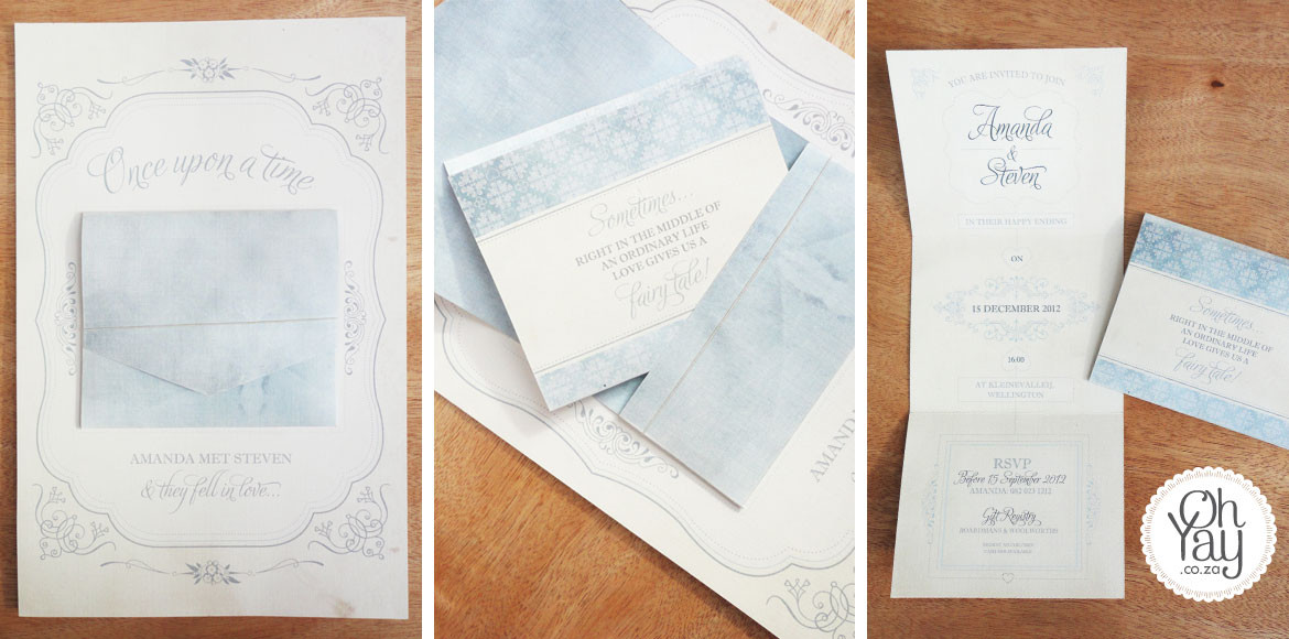 Fairytale Wedding Invitation
