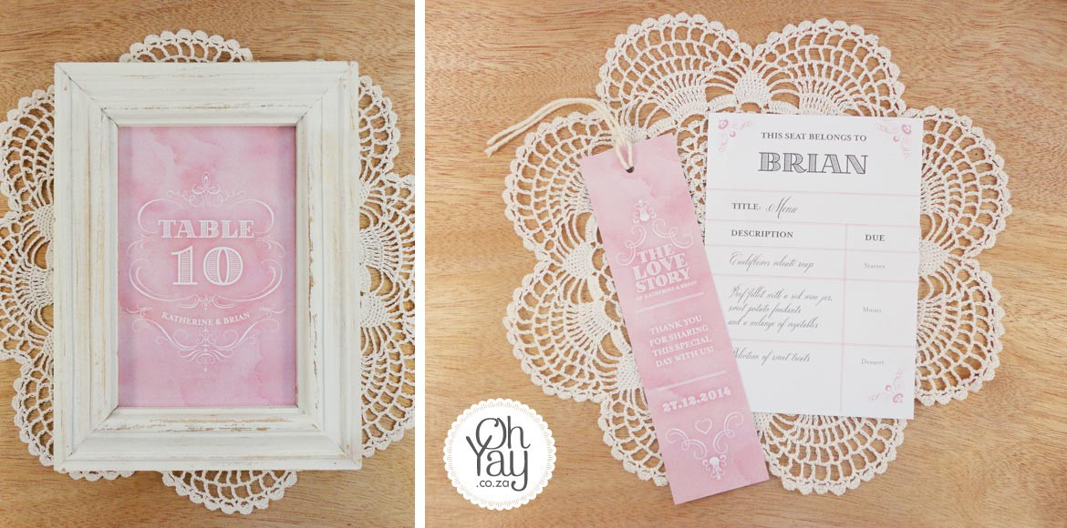 Romantic Love Story stationery