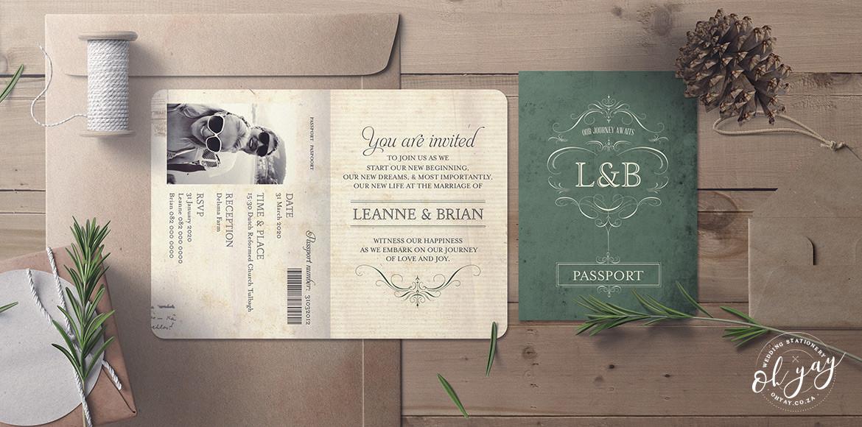 Vintage Passport