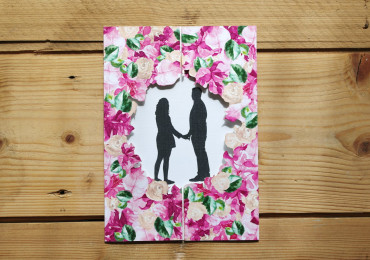 Bougainvilleas inspired stationery